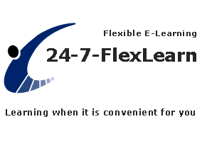 24-7 Flexible Learning - learning when it is convenient for you